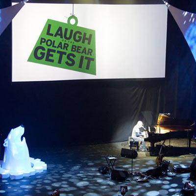 Entec Laughs For the Polar Bear