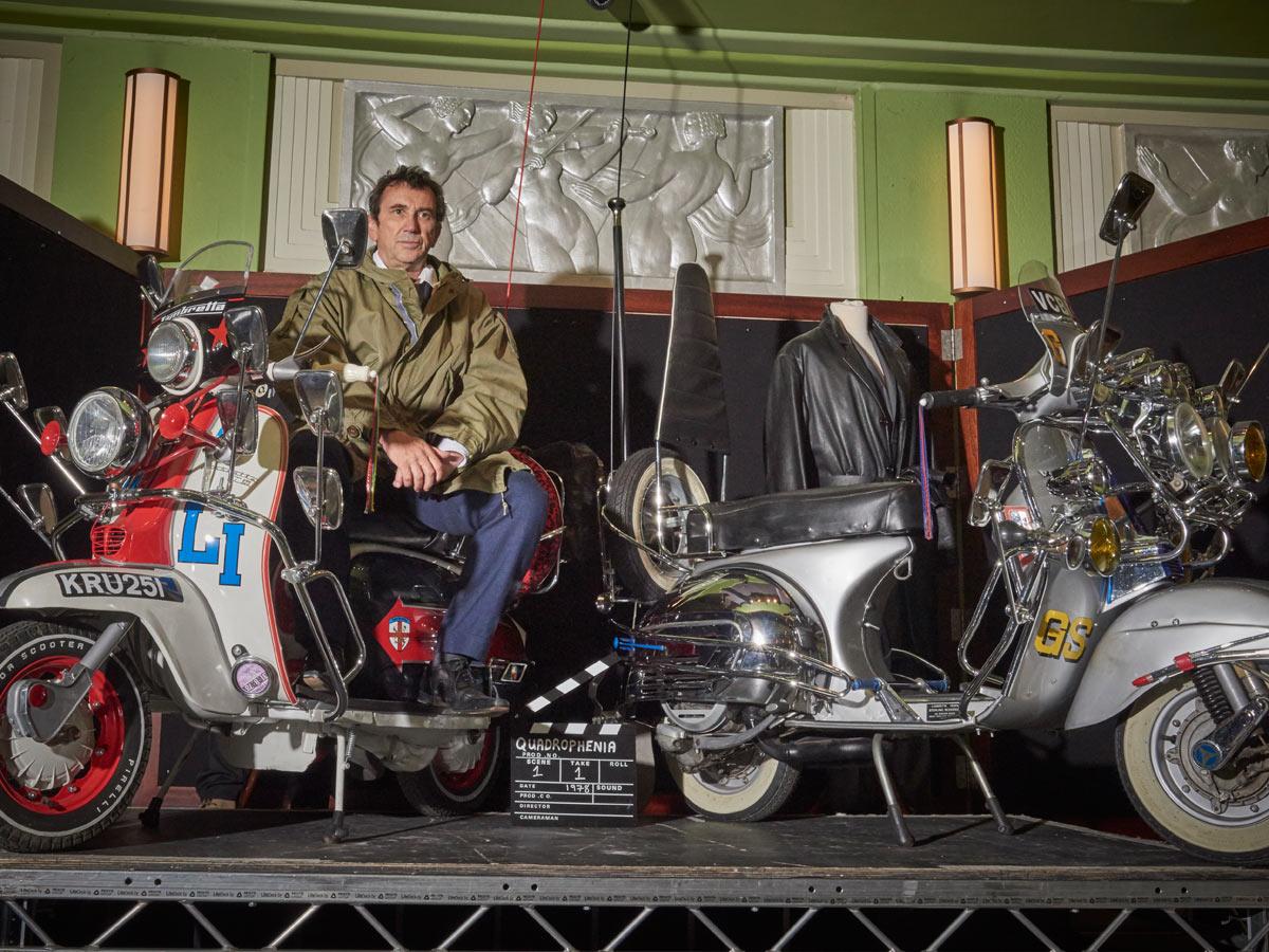 Entec Quadrophenia - Phil Daniels & scooters