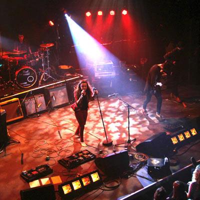 Entec - Bedales school rock show