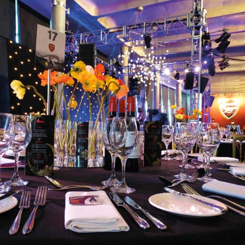 Corporate Events, Galas and Balls page