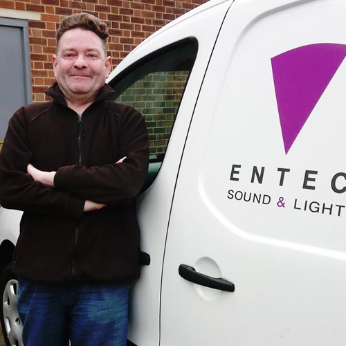 ALASTAIR PARLEY JOINS ENTEC