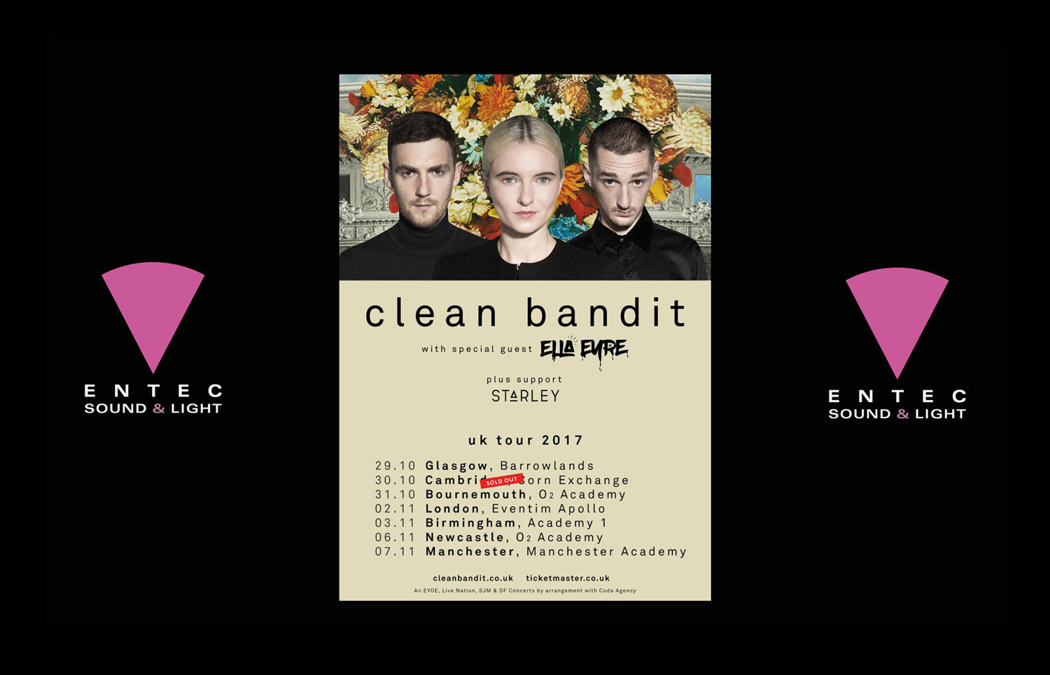 Entec - clean bandit UK 2017