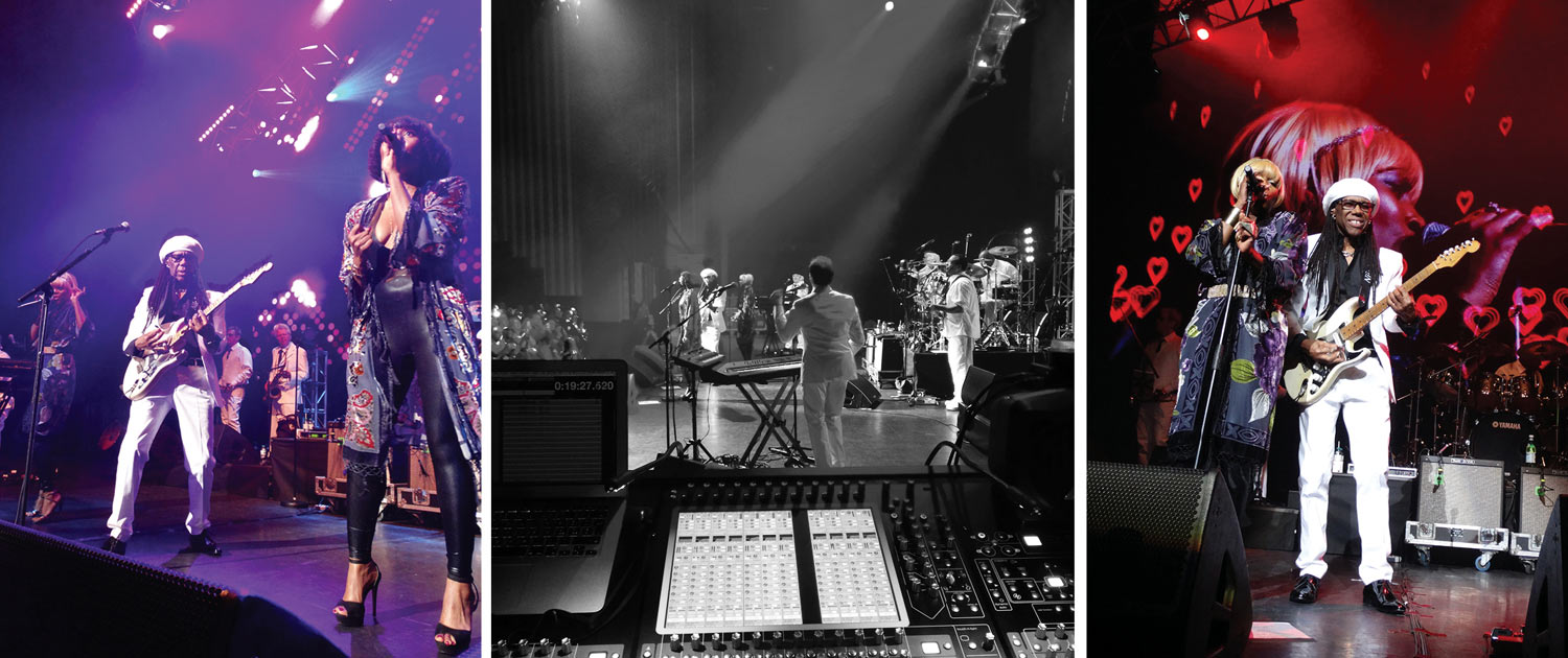 Nile Rodgers & Chic perform for Autism Rocks
