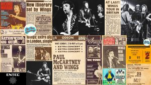 1973 - Wings uk tour