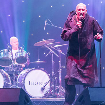 Brian Pern at Wembley