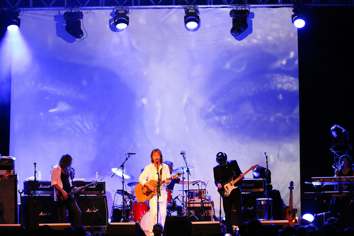 Entec - Chris Norman tour 2015