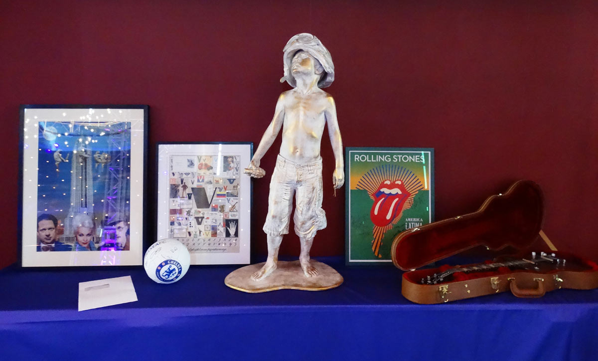PCUK auction items