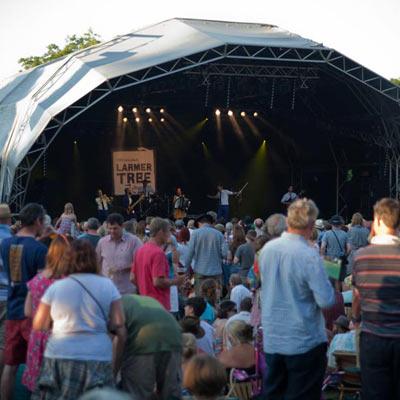 Larmer Tree festival 2013