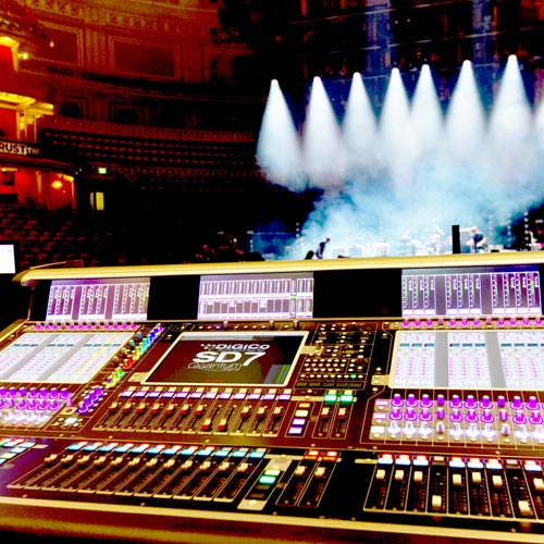 DiGiCo's SD7 Quantum 7 at Teenage Cancer Trust 2019
