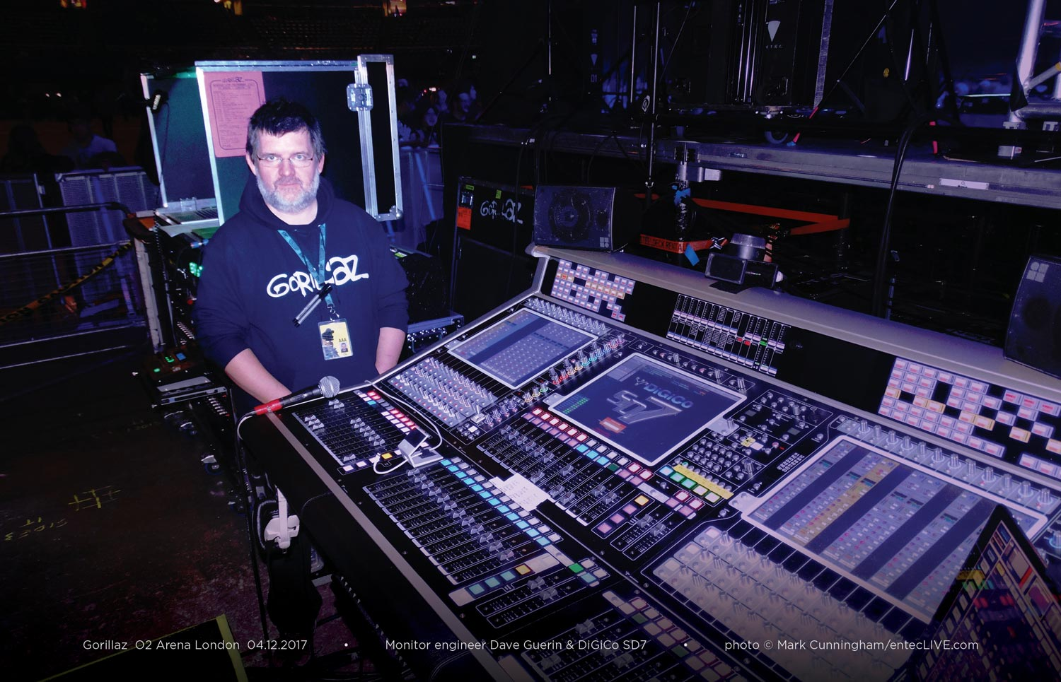 Entec Humanz touring audio with Gorillaz
