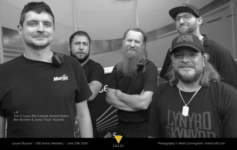 Entec - Lynyrd Skynyrd 2019 Crew