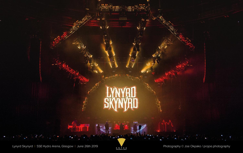 Entec - Lynyrd Skynyrd 2019 Glasgow