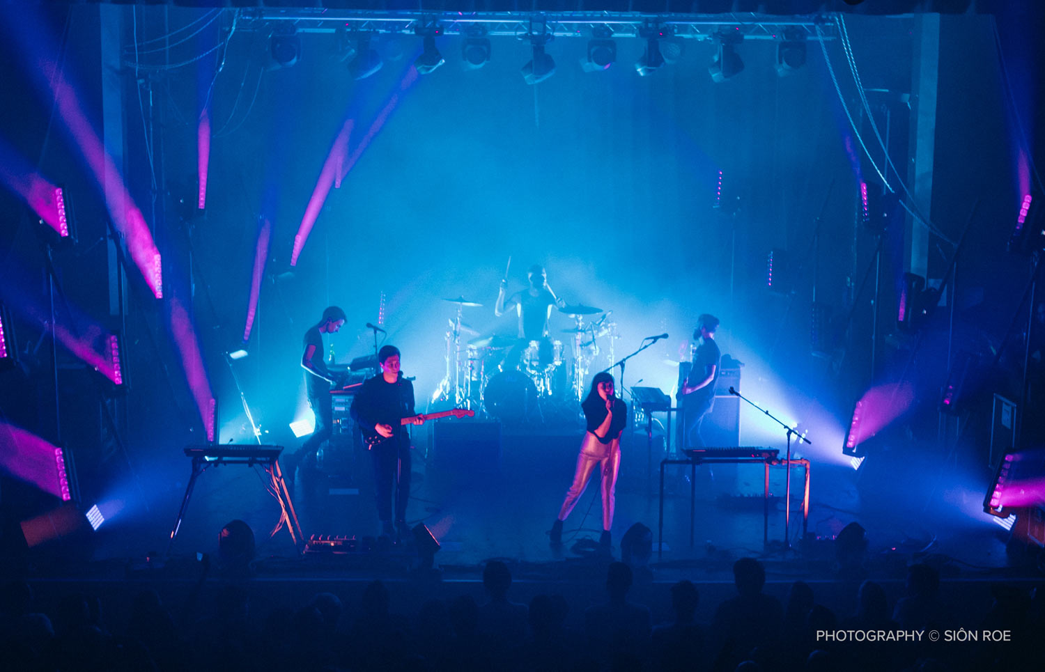 THE NAKED AND FAMOUS TAKE BRIXTON – Entec Sound and Light