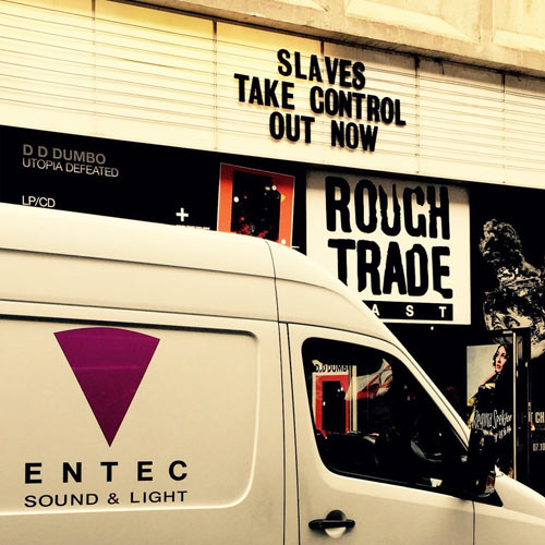 ENTEC AND d&b SUPPORT ROUGH TRADE EAST